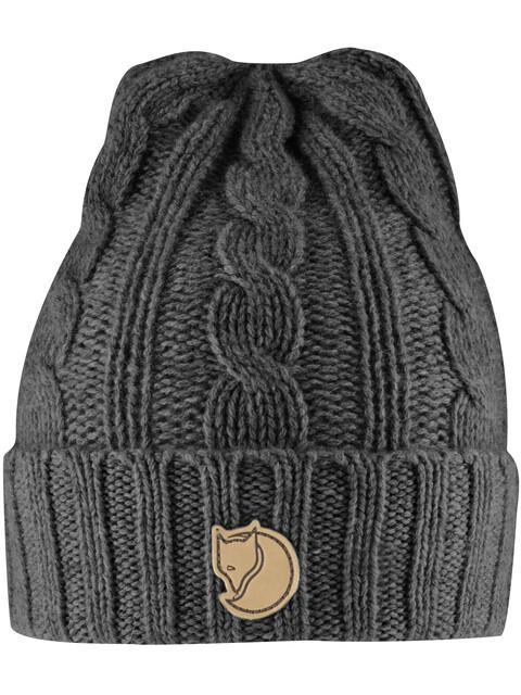 Fjällräven Braided Knit Hat Dark Grey